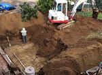 Replanteo y excavación
