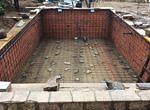 Colocación de hierro y tuberías