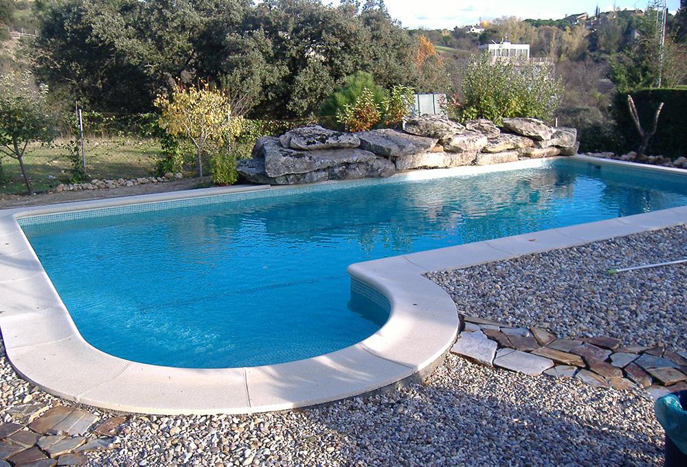 piscina de obra hormign