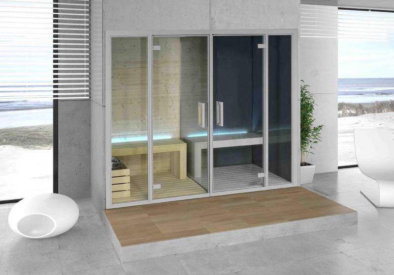 Baño De Vapor | Instalacion De Spas Saunas Banos Turcos O De Vapor Ancla Piscinas
